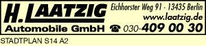 Logo von Laatzig Automobile GmbH, H.