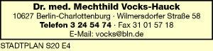 Logo von Vocks-Hauck Mechthild Dr. med.