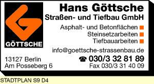 Logo von Göttsche Straßen- und Tiefbau GmbH Hans