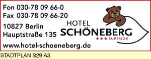 Logo von Hotel Schöneberg