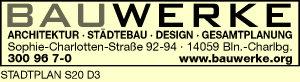 Logo von BAUWERKE