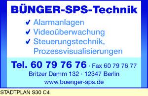 Logo von Bünger-SPS-Technik
