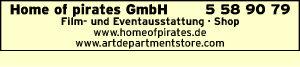 Logo von Home of pirates GmbH