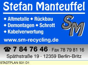 Logo von Manteuffel Stefan