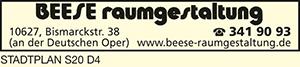 Logo von Beese Raumgestaltung