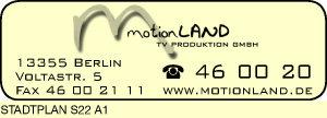 Logo von motionLand TV Produktion GmbH