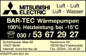 Logo von BAR-TEC Wärmepumpen