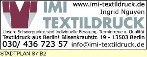 Logo von IMI Textildruck, Ingrid Nguyen
