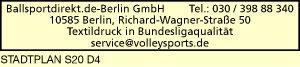 Logo von Ballsportdirekt.de-Berlin GmbH