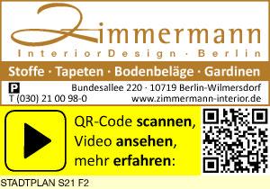 Logo von Zimmermann InteriorDesign Berlin