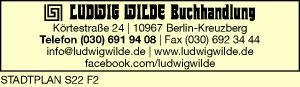Logo von Wilde Buchhandlung, Inh. K.-H. Kirchner Ludwig