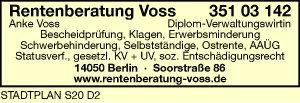 Logo von Voss Anke Dipl.-Verwaltungswirtin