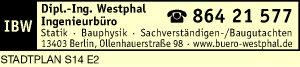 Logo von Westphal Dipl.-Ing.