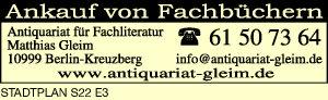 Logo von Antiquariat für Fachliteratur Matthias Gleim