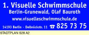Logo von Bauroth, Olaf 1. Visuelle Schwimmschule