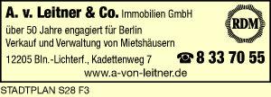 Logo von Leitner & Co. Immobilien GmbH A. v.