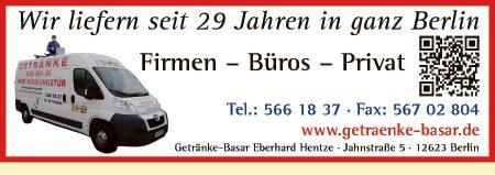 Logo von Getränke-Basar, Eberhard Hentze