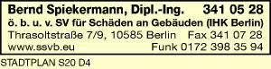 Logo von Spiekermann Bernd Dipl.-Ing.